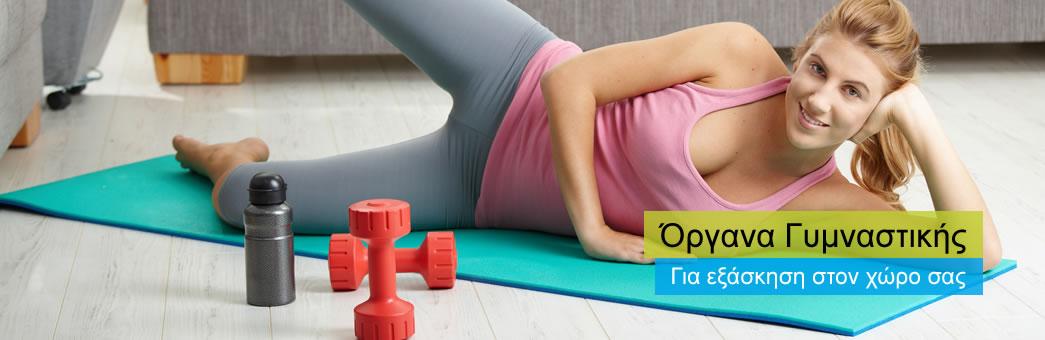 Όργανα γυμναστικής και είδη fitness. Μεγάλη ποικιλία, χαμηλές τιμές, άτοκες δόσεις!