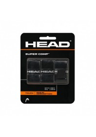 Overgrips Head Super Comp Μαύρο